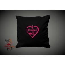 Cushion Cover - I Love Dogging