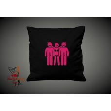 Cushion Cover - Male Female Male