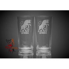 Hi Ball Glasses x2 - The Bull