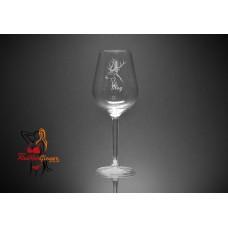 Wine Glass - Stag