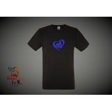 Mens T-Shirt - I Love BBW