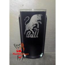 Pint Glass - The Bull