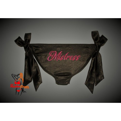 Silky Tie Side Knickers - Mistress