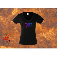 Lady Fit T-Shirt - Straight With A Kink